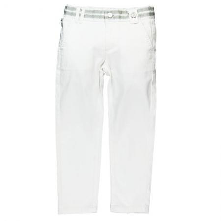 Kalhoty Bóboli bílé Tape