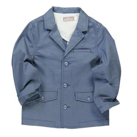 Kabátek letní Bóboli modrý