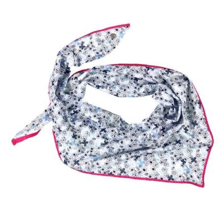 Elegantní šátek Bóboli s květinovým potiskem