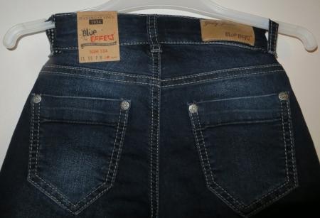 Jeans Blue Effect tmavě modré Klasika