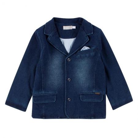 Kabátek Bóboli džínový