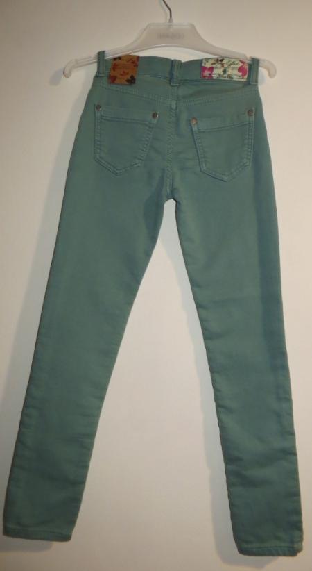 Kalhoty Blue Effect zelené elastické