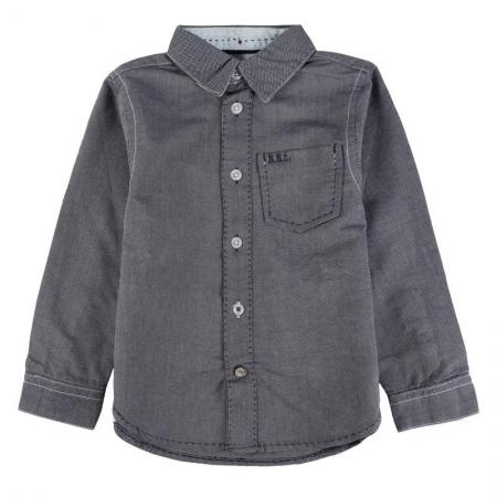 Košile s dlouhým rukávem Bóboli modrá
