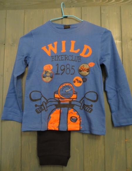 Pyžamo Losan s potiskem Wild modré