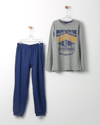 Pyžamo Losan s potiskem Gasoline modré