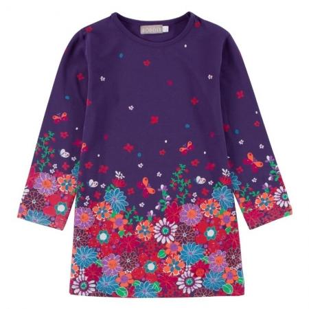 Šaty Bóboli s potiskem Flowers