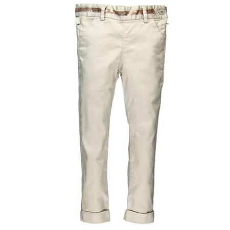 Kalhoty Bóboli saténové Gold