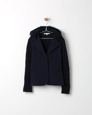 Kabátek Losan tmavě modrý s kapucí