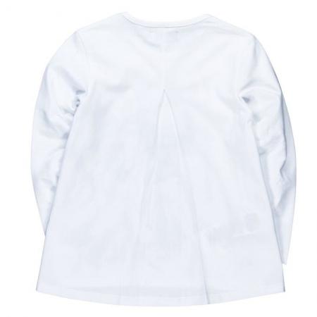 Tričko s dlouhým rukávem Bóboli bílé s potiskem Fashion