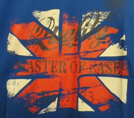 Set triček s dlouhým rukávem Losan modré a hnědé s potiskem England