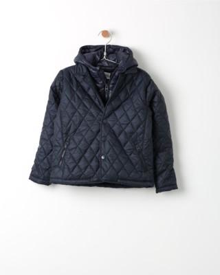 Zimní bunda Losan modrá s kapucí Blue