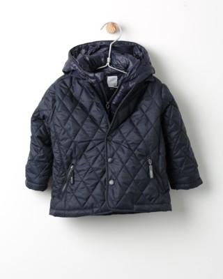 Zimní bunda Losan tmavě modrá s kapucí